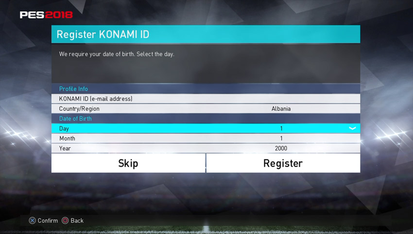 Konami Id Creation Skip P4