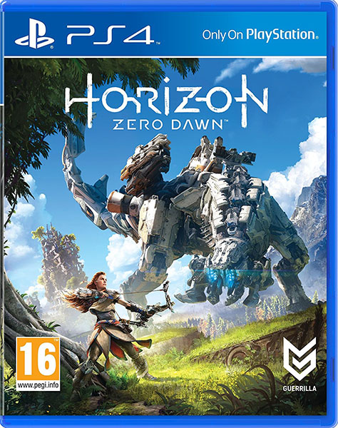 Horizon PS4 Cover
