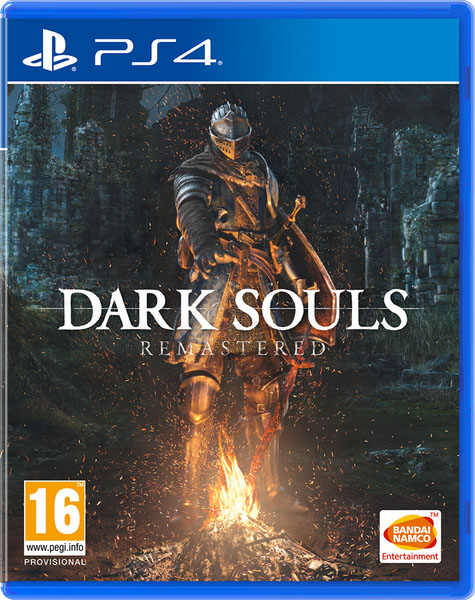 ps4 dark souls remastered cover
