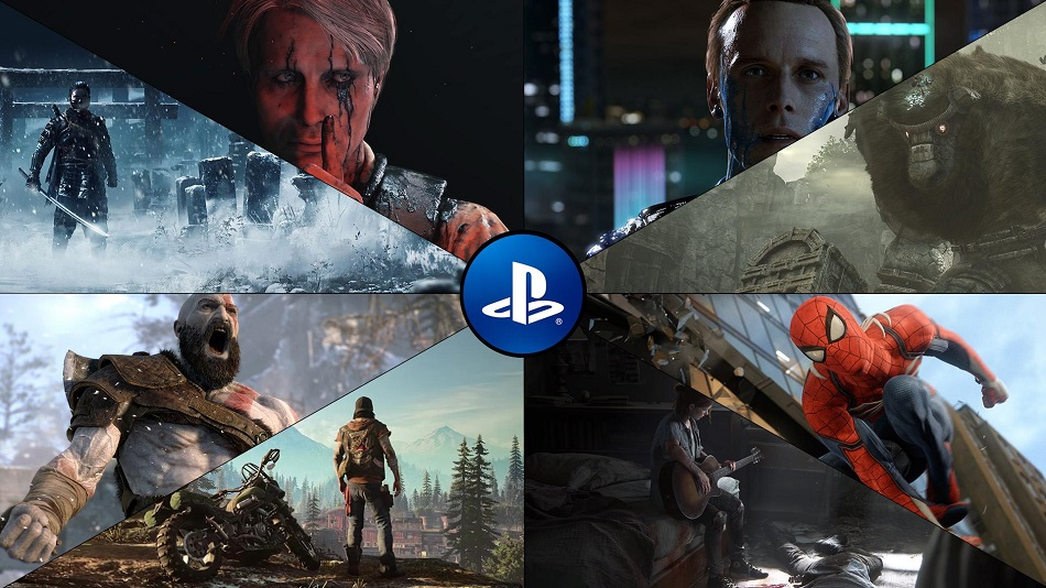 sony ps4 execlusives