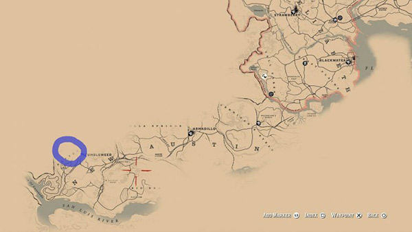 rdr 2 condor locations