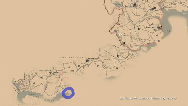 rdr 2 crab locations