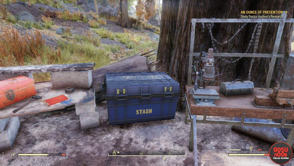 Fallout 76 camping tips 2