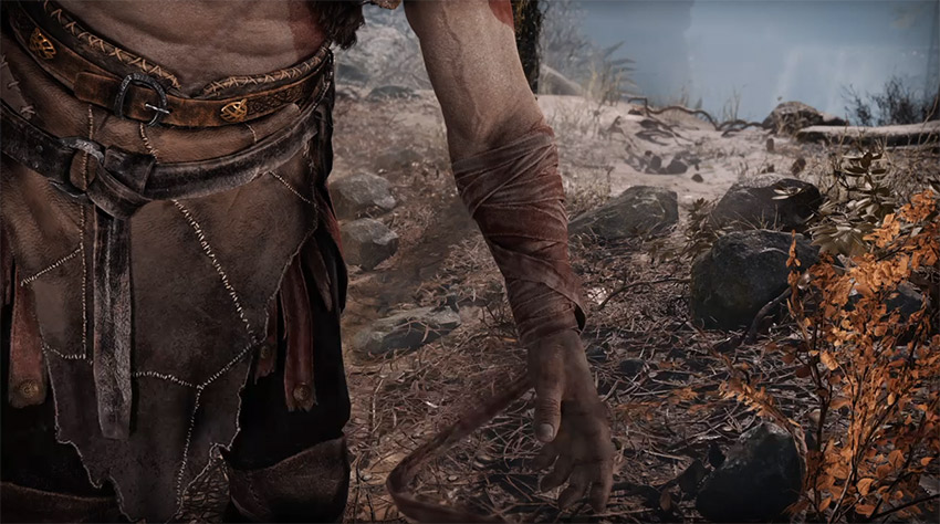 Kratos without blades of chaos