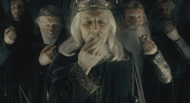 Lord of the Rings human kings