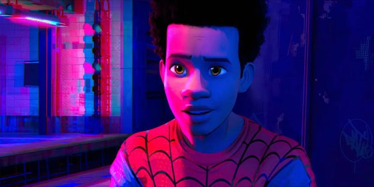 spider man into the spider verse miles morales 1