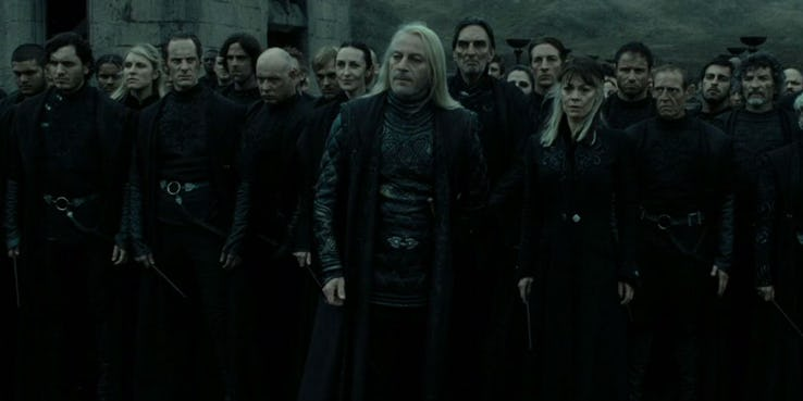 Lord Voldemorts Death Eaters in Harry Potter and the Deathly Hallows Part 2