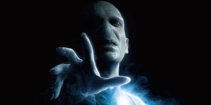 scariest harry potter villains voldemort
