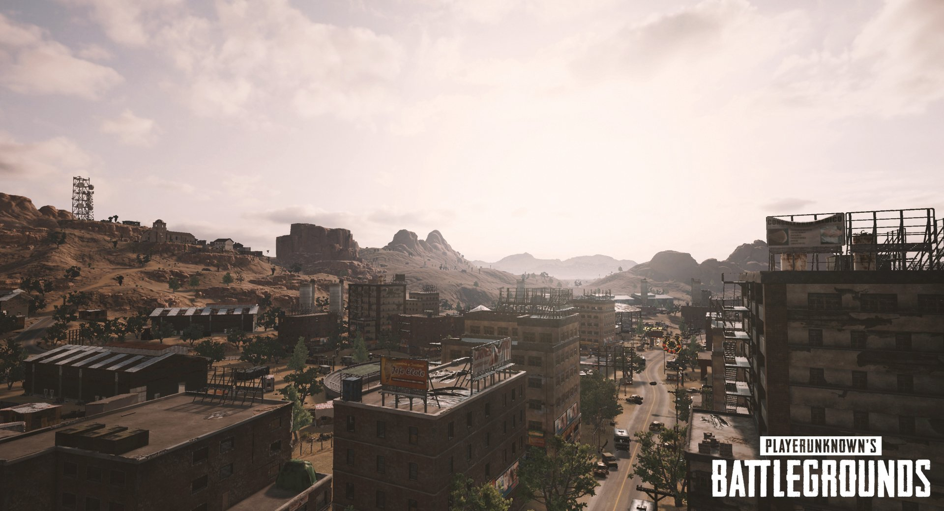 pubg desert map screenshots