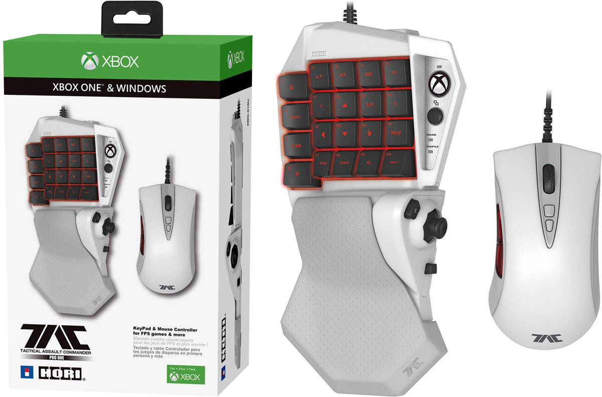 Hori Xbox One Mouse and Keyboard 1200 791