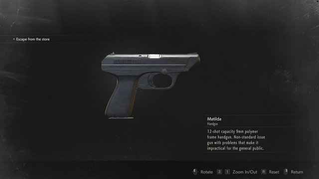 Resident Evil 2 all weapons and weapon mods location