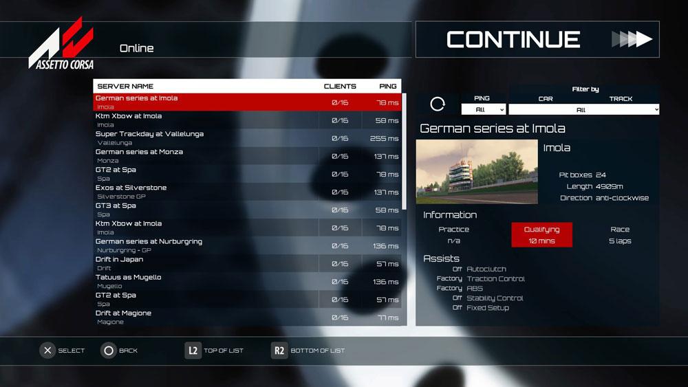 Assetto Corsa Screenshot P6 Bazimag - بازی اورجینال Assetto Corsa پلیاستیشن ۴