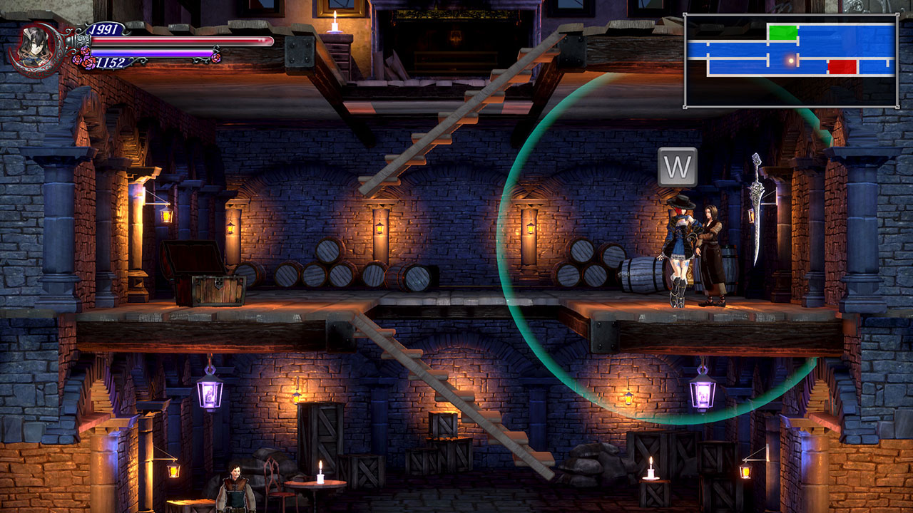 Image showing the Lindsay NPC in Bloodstained Ritual of the Night