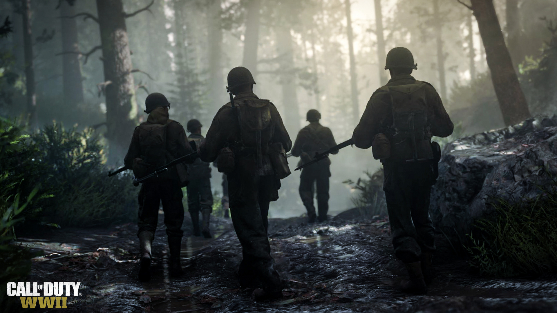 Call of Duty WWII Forest