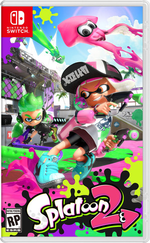 Splatoon 2 Box Art