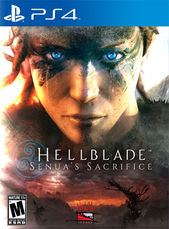Image result for hellblade ps4 cover
