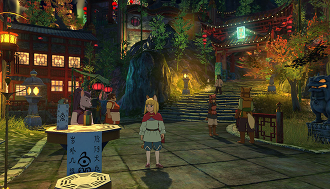 گیم پلی بازی Ni No Kuni 2: Revenant Kingdom