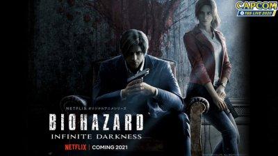 معرفی سریال انیمیشنی Resident Evil Infinite Darkness توسط نتفلیکس