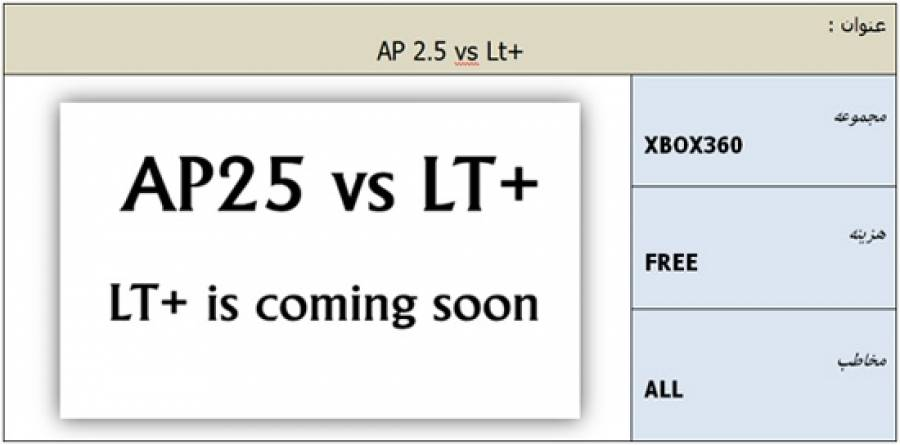 AP25 Vs LT Plus