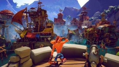 Crash Bandicoot 4: It's About Time حالت چندنفره آفلاین نیز دارد