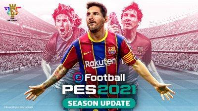 بررسی بازی eFootball Pro Evolution Soccer 2021