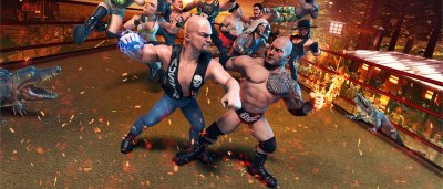 بررسی بازی WWE 2K Battlegrounds