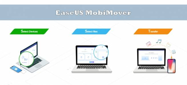 EaseUS MobiMover - مدیریت و انتقال فایل بین آیفون و ویندوز