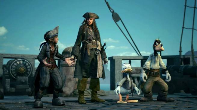E3 2018: بسته الحاقی Pirates of The Caribbean برای بازی Kingdom Hearts 3 معرفی شد