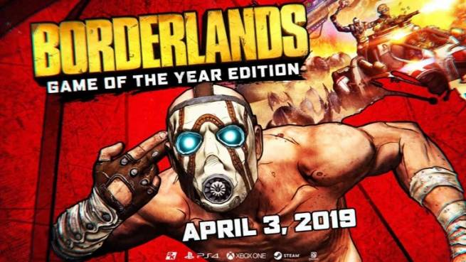 نسخه‌ی Game of the Year بازی Borderlands معرفی شد